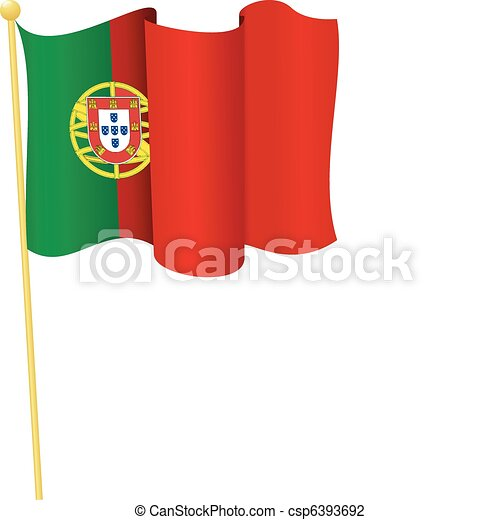 Vector coat of arms of Portugal - csp6393692