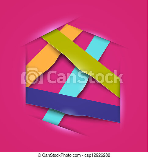 vector colorful banners - csp12926282