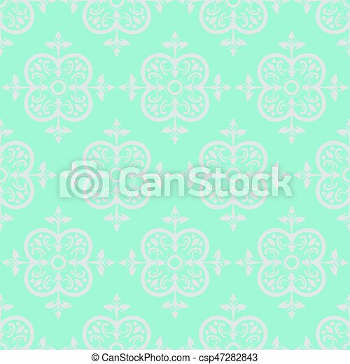 Vector Colorful Decorative Seamless Pattern - csp47282843