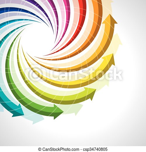 vector colorful life cycle - csp34740805