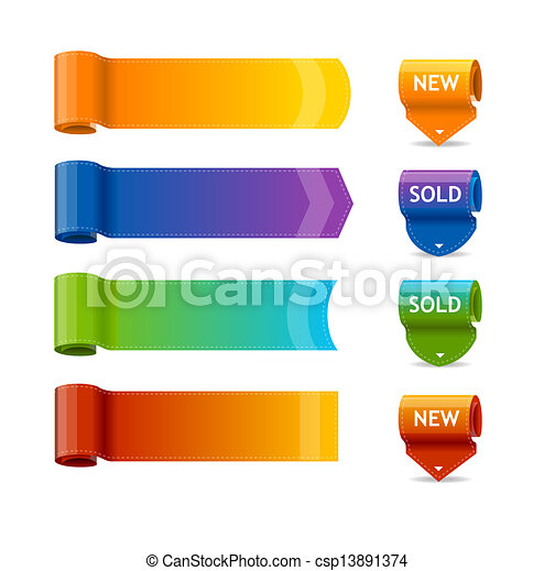 vector colorful text box templates text box templates