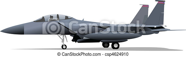 Vector combat aircraft - csp4624910