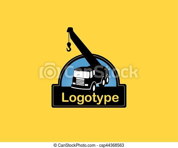 Diseño de logo de vectores para la empresa constructora - csp44368563