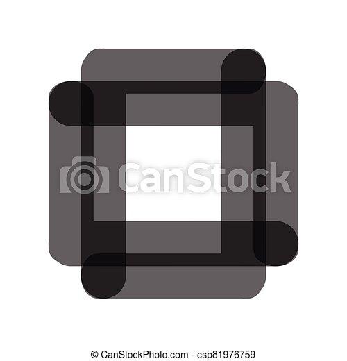 vector, compañía, logotipo, resumen, icono - csp81976759