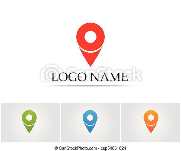 vector compass signs and symbols logo