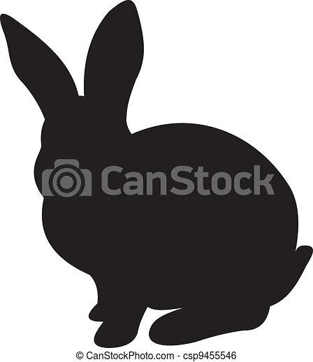 Vector de conejo - csp9455546