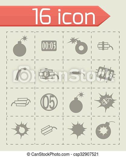 Icono Vector - csp32907521