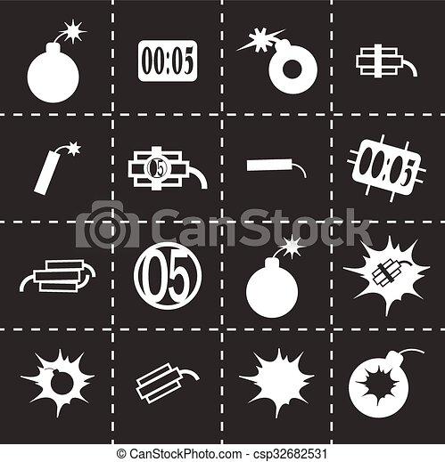 Icono Vector - csp32682531