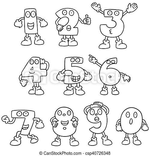 Una serie de dibujos animados - csp40726348