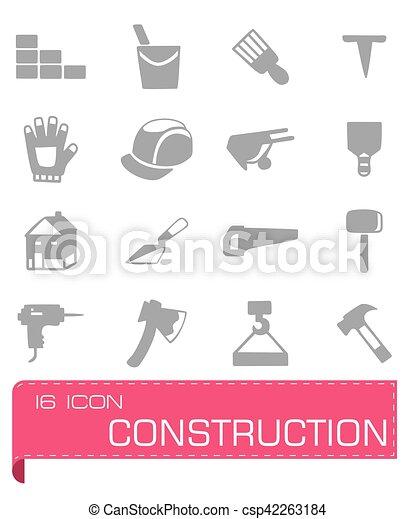 Vector Construction icon set - csp42263184