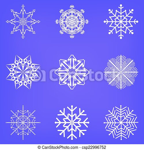 Vector de Snowflake - csp22996752