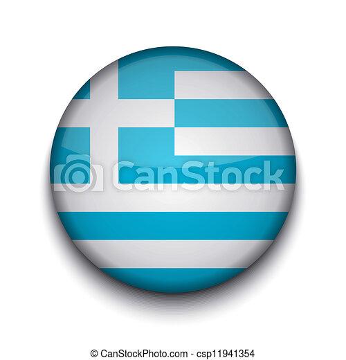 Vector creative circle flag on white background. Eps10 - csp11941354