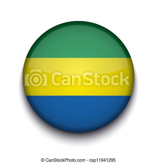 Vector creative circle flag on white background. Eps10 - csp11941295