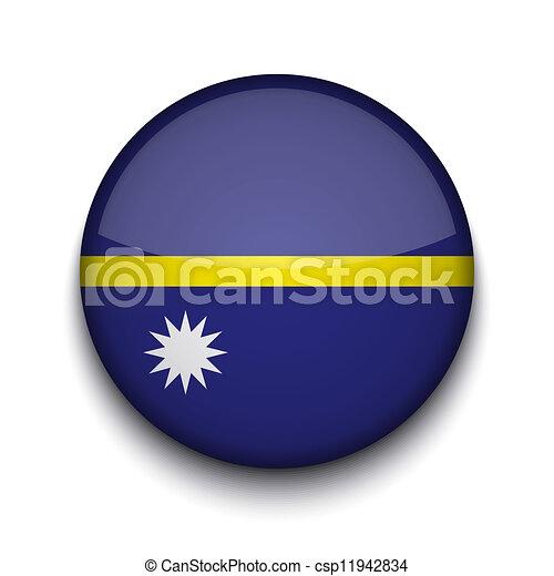 Vector creative circle flag on white background. Eps10 - csp11942834