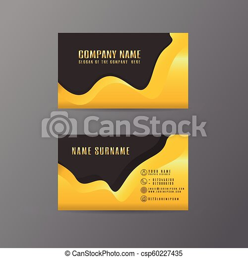 Vector creative leaf business card gold and black design of text on vector creative leaf business card gold and black design of text on gray background colourmoves