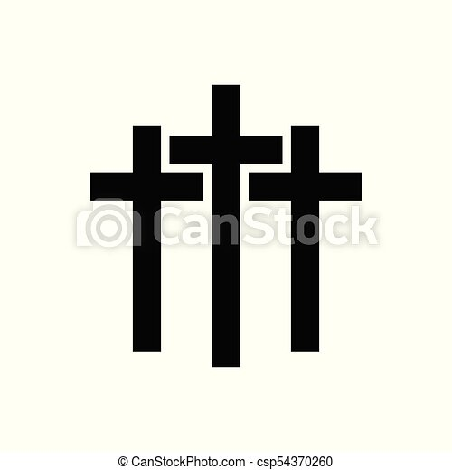 vector cross icon vector abstract cross icon isolated on a clip rh canstockphoto com cross vector art free download maltese cross vector art