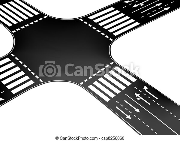 Vector crossroad - csp8256060