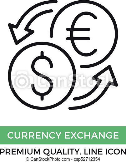 Vector Currency Exchange Icon Currency Converter Foreign Exchange