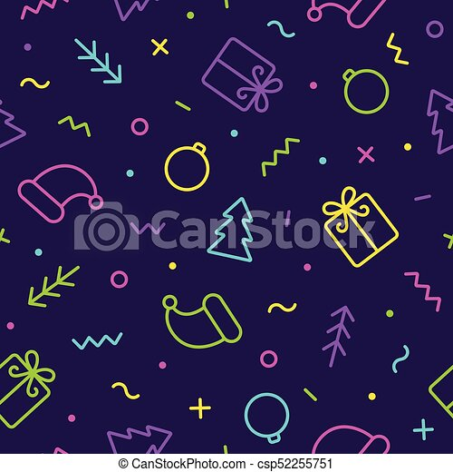 Vector Cute Christmas Background