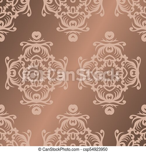 Vector Damask Seamless Pattern Background Elegant Luxury Texture For Wallpapers Backgrounds And Page Fill