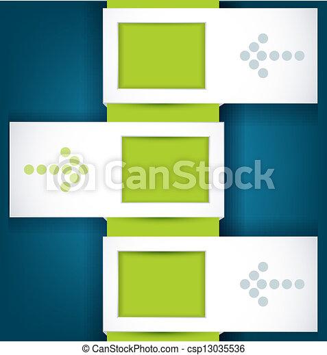 Vector design elements for business - csp13035536