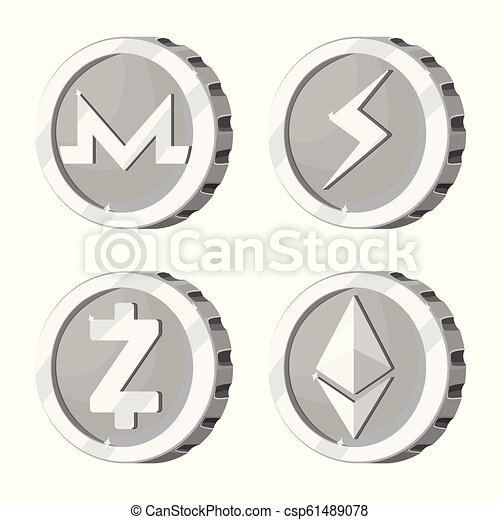 Cryptocurrency coin symbol image files