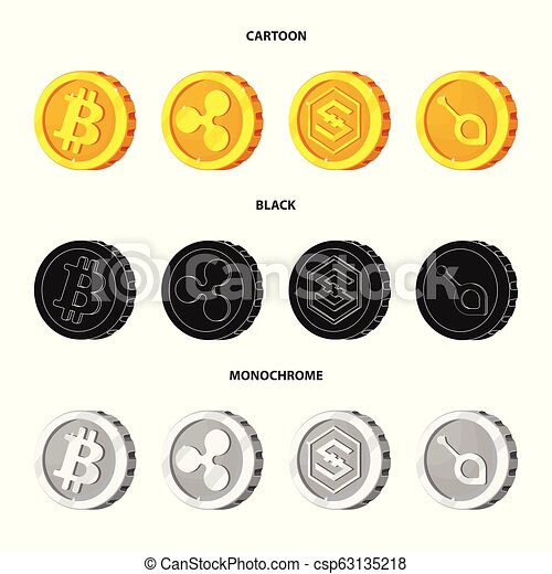 Design a cryptocurrency coin image