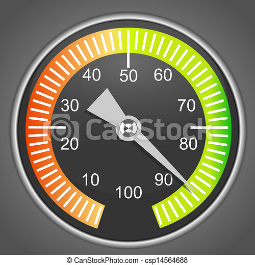 Vector device face, Manometer - csp14564688