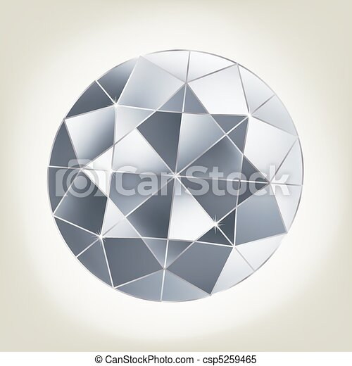 Vector diamond. - csp5259465
