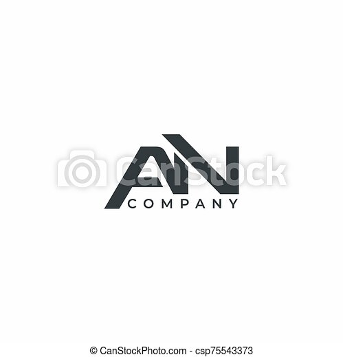vector, diseño, compañía, plantilla, carta, moderno, logotipo - csp75543373