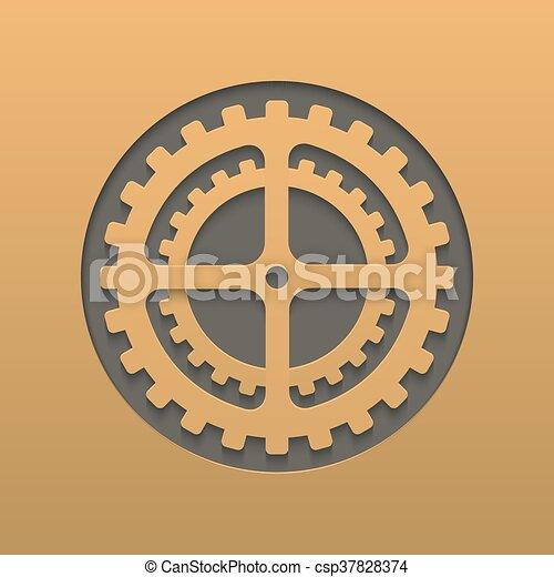 Vector moderno diseño de fondo - csp37828374