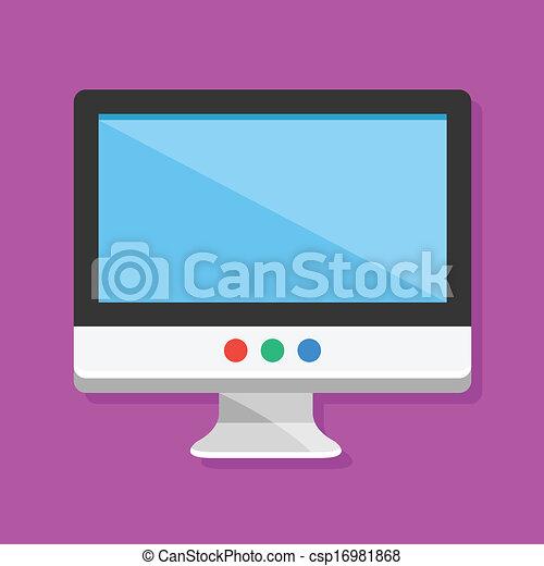 Vector Display Icon  - csp16981868