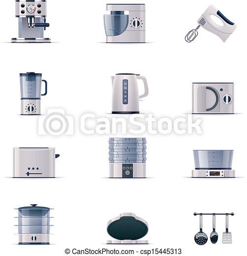 Vector domestic appliances set. P.2 - csp15445313