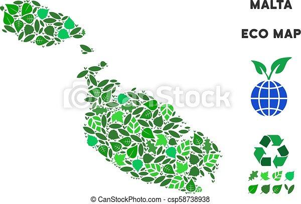 Vector Eco Green Collage Malta Island Map on san marino, malta people, malta region map, malta points of interest, malta street map, malta weather, malta russia map, emma heming, malta beaches, malta portugal map, cape verde islands map, malta capital map, italy map, maltese map, st.julians malta map, paul in malta map, malta bus route map, malta popeye s, malta climate map, malaysia map, sliema malta map,