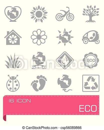 Vector Eco icon set - csp56089866