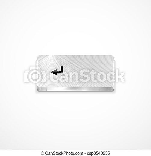 Vector enter button - csp8540255