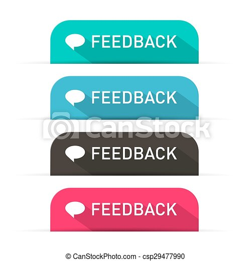 Vector Feedback Icons Set - csp29477990