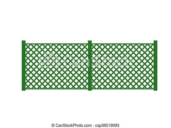 farm fence drawing. Vector Fence Illustration. Farm Fence. With Border. Building Element Drawing
