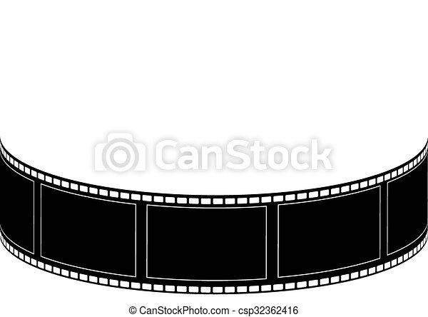 Line Art Vector Illustrator : Vector film strip multi style illustrator clip art search