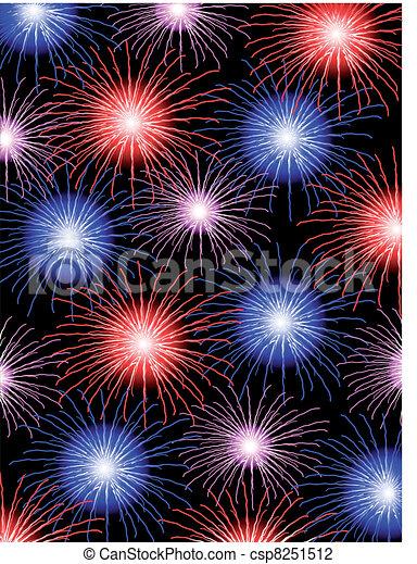 Vector fireworks - csp8251512