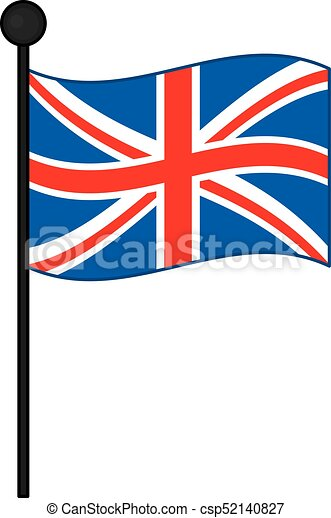 vector flag of the united kingdom vector union jack vector rh canstockphoto com