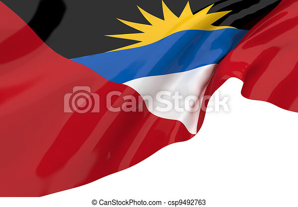 Vector Flags of Antigua and Barbuda - csp9492763