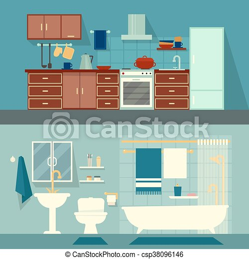 Vector flat illustration for rooms of apartment, house. home ... on 3 bed design, flat pool, flat flowers, flat furniture, flat lighting, 2 bedroom design, flat space, flat chair, roofing style roof design, flat wall, lodge design, flat painting, flat decor, flat art, flat storage, flat kitchen, bungalow design, apartment design, flat houses in trinidad, flat photography,