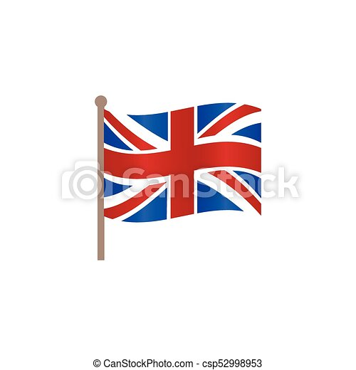 vector flat union jack britain flag icon. vector flat great britain, united  kingdom union jack flag icon. isolated   canstock  can stock photo