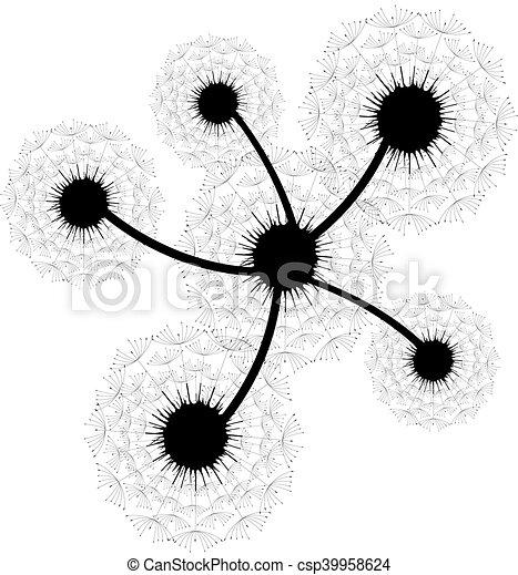 Antecedentes florales Vector - csp39958624