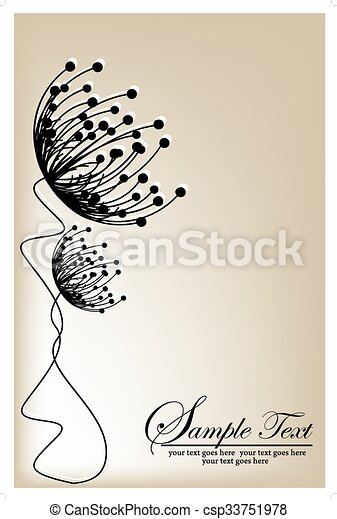Antecedentes florales Vector - csp33751978