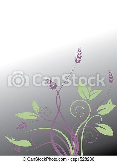 vector, floral - csp1528236
