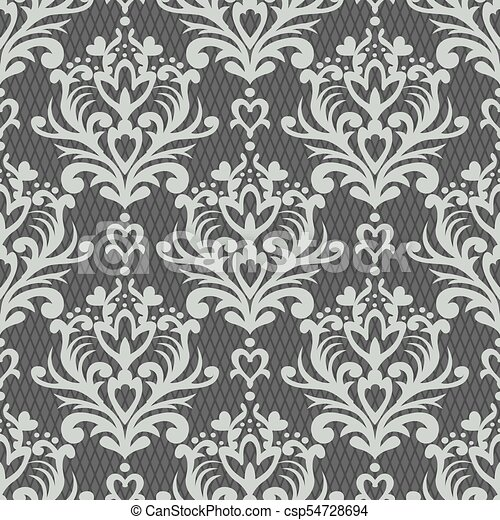 Vector floral damask pattern rich ornament old damascus style vector floral damask pattern rich ornament old damascus style royal victorian seamless pattern for wallpapers textile wrapping wedding invitation stopboris Choice Image