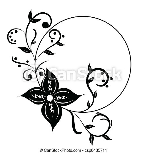 Clipart Floral Frame - Vector And Clip Art Inspiration •