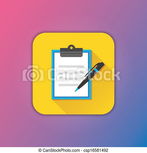 Vector Form Icon - csp16581492